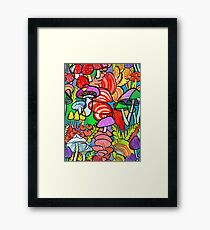 Overnight a Forest Appeared Framed Print
