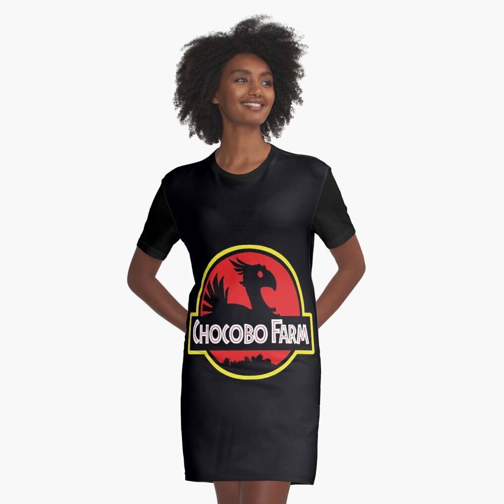 Chocobo Bauernhof T-Shirt Kleid