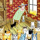 Cat Lady  by Andrew  Hitchen