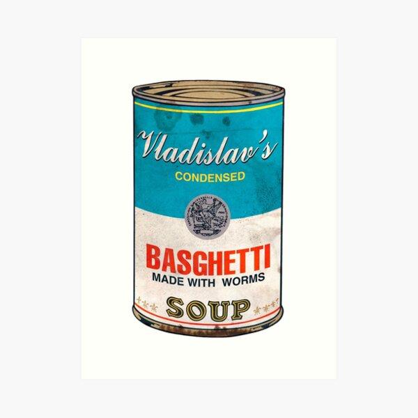 Vladislav's Basghetti, What We Do in the Shadows Art Print