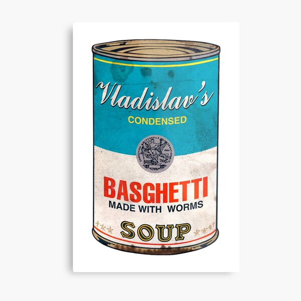 Vladislav's Basghetti, What We Do in the Shadows Metal Print