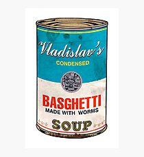 Vladislav's Basghetti, What We Do in the Shadows Photographic Print