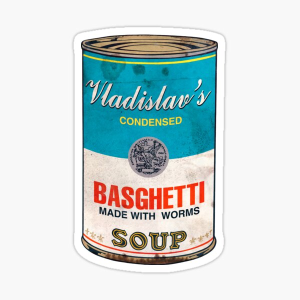 Vladislav's Basghetti, What We Do in the Shadows Sticker