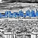 Paris - view from Eiffel Tower 3 by harietteh