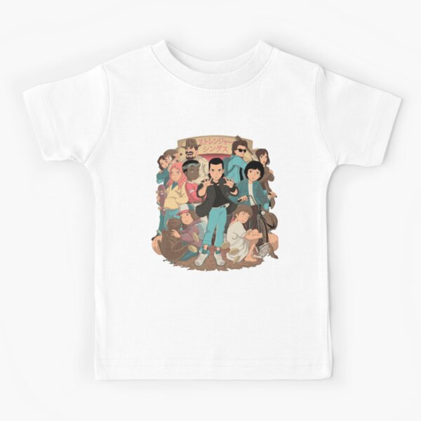 Stranger Anime 2 Kids T-Shirt