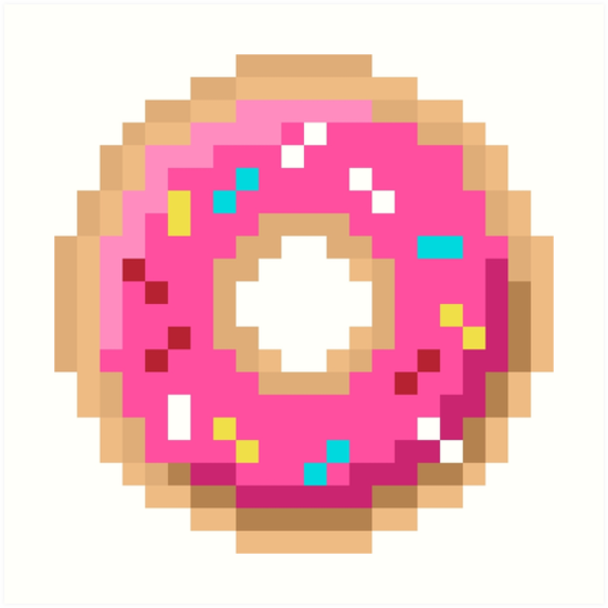 Simpson Donut By Brick86