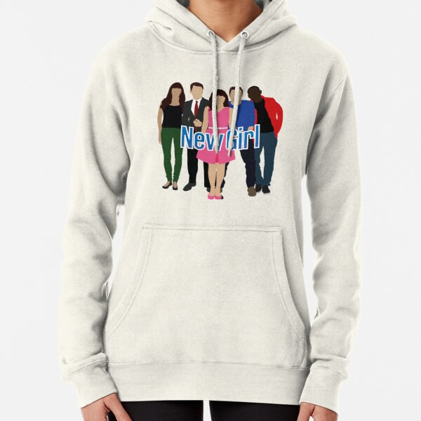 New Girl Cast Pullover Hoodie