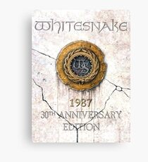 whitesnake 30th anniversary Canvas Print