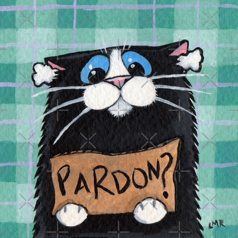 Pardon? by Lisa Marie Robinson