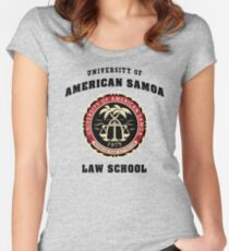 BCS - University of American Samoa Law School Women's Fitted Scoop T-Shirt