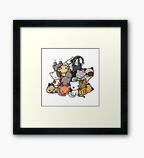 Pile of Kitties Framed Print