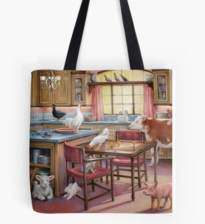 The Occupation of the Kitchen Tote Bag