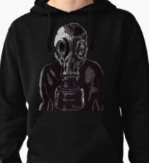 gas mask Pullover Hoodie