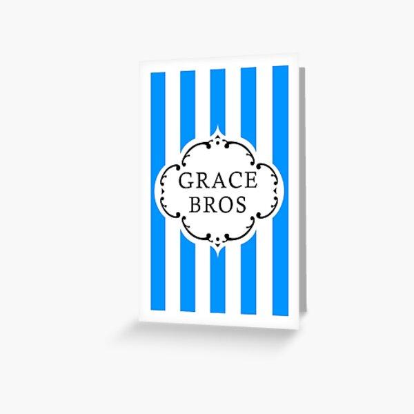 GRACE BROS Greeting Card