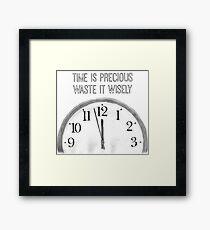 Precious Time Framed Print