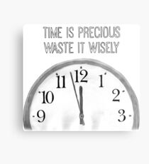 Precious Time Metal Print