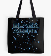 Black-alert Tote Bag
