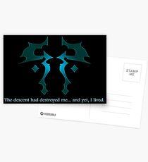 The Descent Postcards