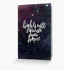 Lights Will Guide You Home Greeting Card