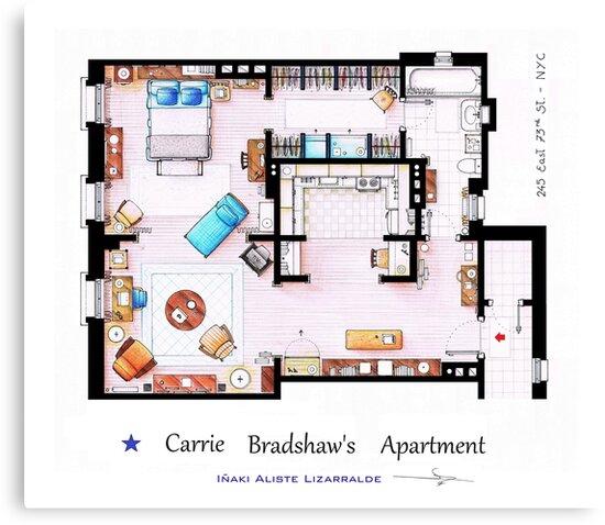 Sex & The City Apartment by Iñaki Aliste Lizarralde