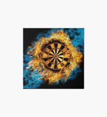 LETS PLAY DARTS Art Board