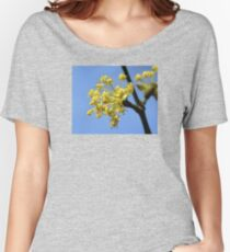 Early Spring Flowers of Cornus mas Women's Relaxed Fit T-Shirt