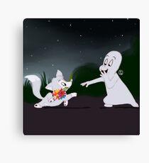 Casper and Ferdie Canvas Print