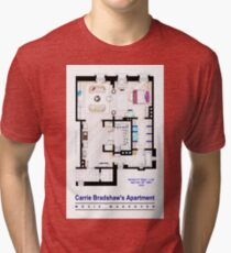 Carrie Bradshaw apt. (Sex and the City movies) Tri-blend T-Shirt