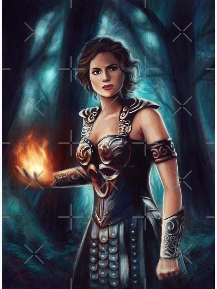 Warrior Queen by svenja