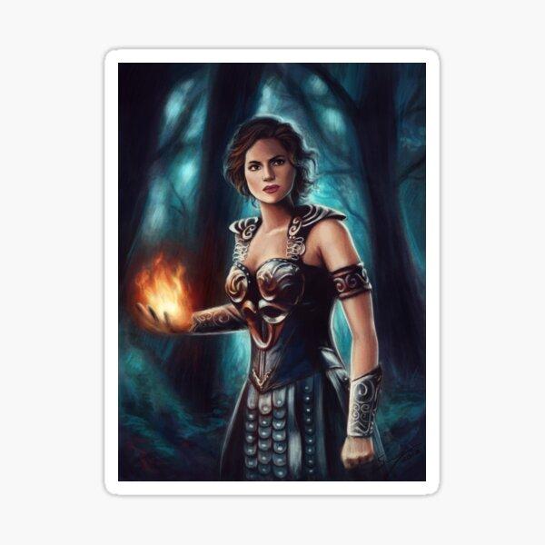 Warrior Queen Sticker