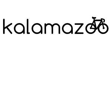 Kalamazoo Bike, Bicycle, Kalamazoo Michigan Biking by tshirtbrewery