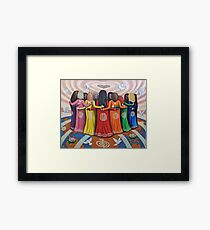 Femme: Women Healing the World Framed Print