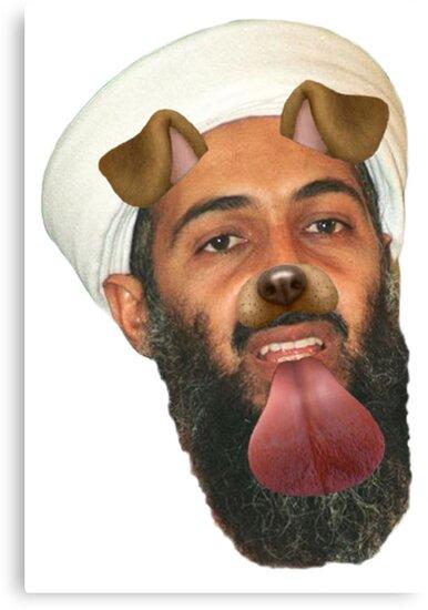 Bin Laden Snapchat Dog by tabasco666