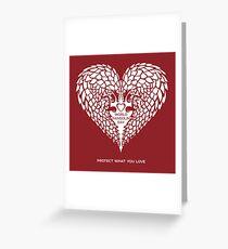 Liebes-Pangolin - Weltpangolin-Tag Grußkarte