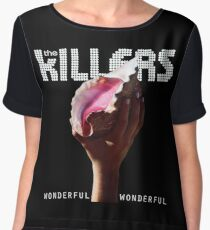 the killers wonderful tour 2018 soang Chiffon Top