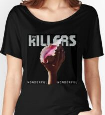 the killers wonderful tour 2018 soang Women's Relaxed Fit T-Shirt