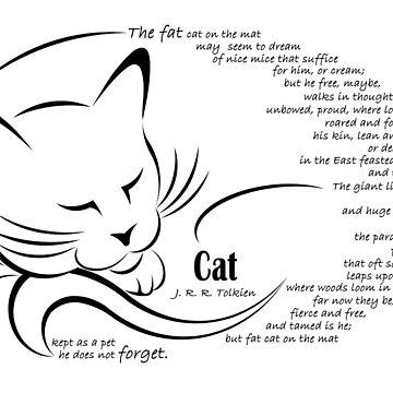 'Cat' by JRR Tolkien by AtlantianKing