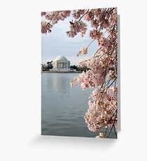 Jefferson in Bloom Greeting Card