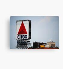 Famous Citgo Landmark Sign, Boston MA Canvas Print