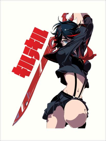 Kill La Kill Ryuko Matoi Art Print By Raw95