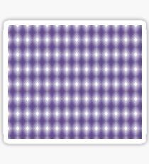 Ultra Violet Optical Diamond Pattern Sticker