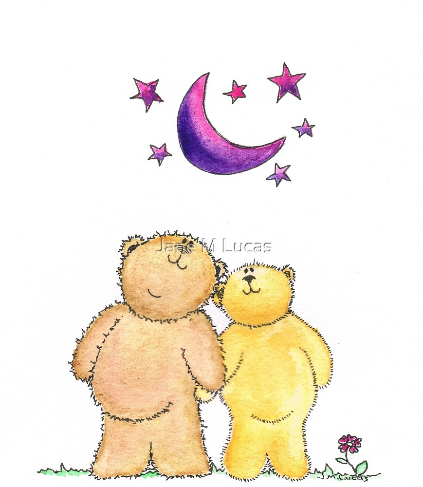 Teddy Bear Romance by Jane M Lucas