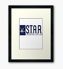 Star Lab Framed Print