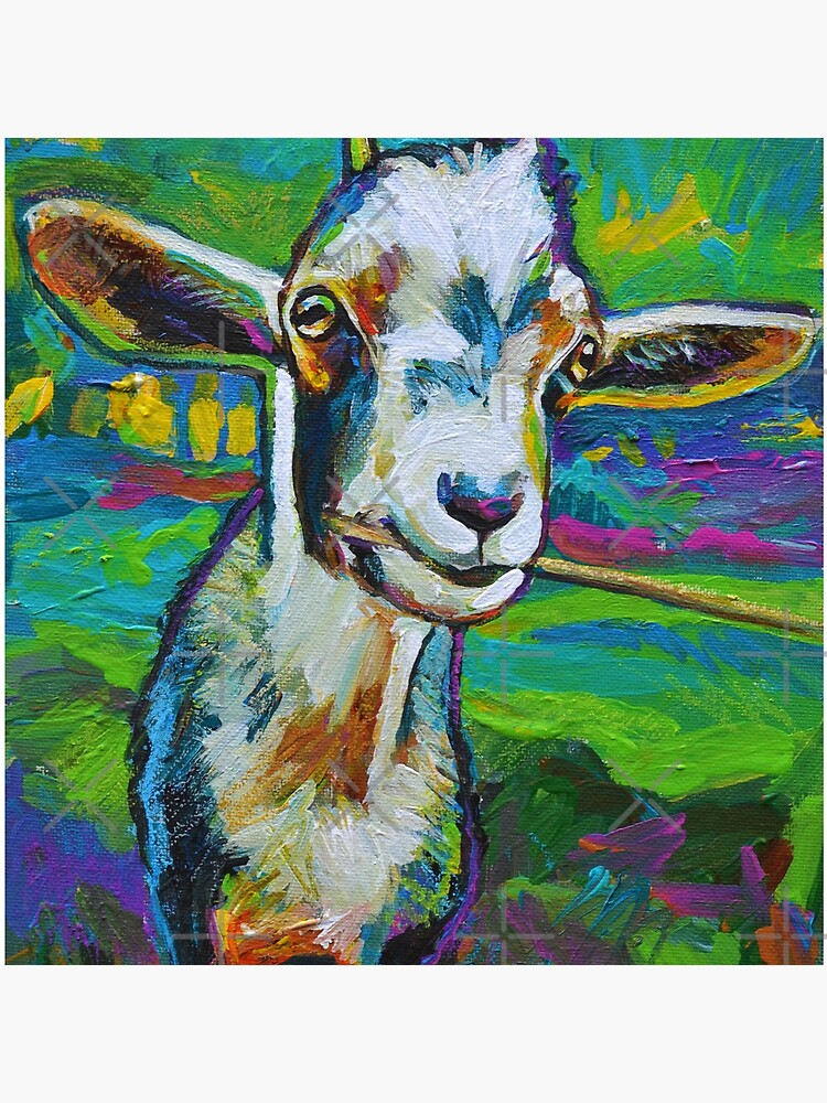 Theodore the Goat by RobertPhelpsArt