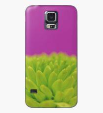 Green Button Spray Chrysanthemum Case/Skin for Samsung Galaxy