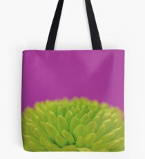 Green Button Spray Chrysanthemum Tote Bag