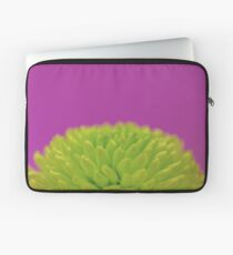 Green Button Spray Chrysanthemum Laptop Sleeve