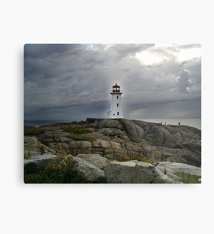 Hurricane Watch Metal Print