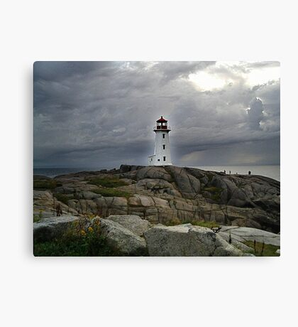 Hurricane Watch Canvas Print
