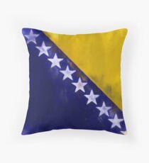 Bosnia And Herzegovina Flag Reworked No. 1, Series 1 Kissen